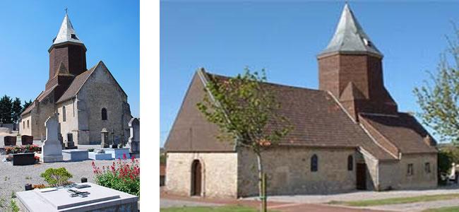 Eglise saint-léger - leulinghen bernes
